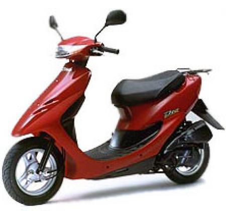 Скутер HONDA DIO AF 27 Одноместный.  Скорость до 50 км/час.  (Права не нужны, только трезвым и совершенно- летним...